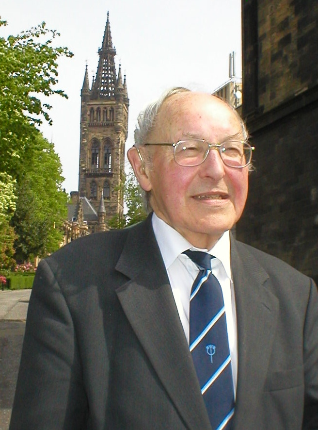 Archie Roy at Glasgow University
