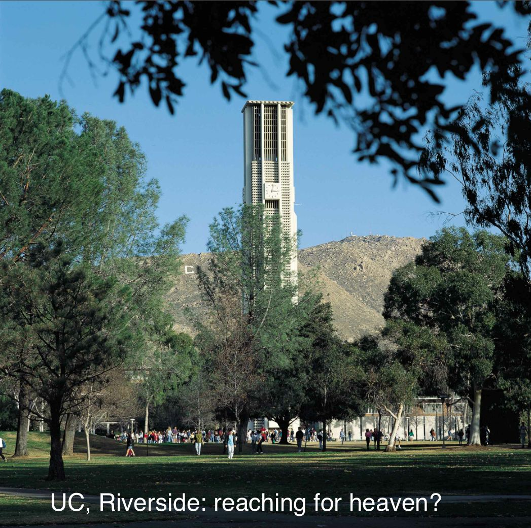 UCR reaching for heaven
